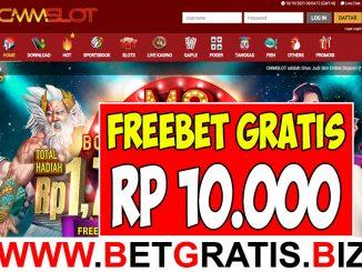 CMMSLOT - FREEBET GRATIS RP 10.000 TANPA DEPOSIT