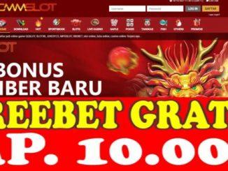 Freebet Gratis Tanpa Deposit Rp 10 Ribu Dari CMMSLOT