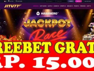 Freebet Gratis Tanpa Deposit Rp 15 Ribu Dari JITU77